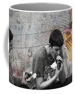 Boys Will Be Coffee Mug by Judi Saunders