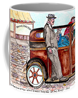 Bracco Candy Store - Window To Life As It Happened Coffee Mug