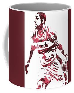 Bradley Beal Washington Wizards Pixel Art 3 Coffee Mug