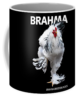 Brahma Breeders Rock T-shirt Print Coffee Mug