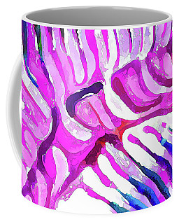 Brain Coral Abstract 7 In Pink Coffee Mug