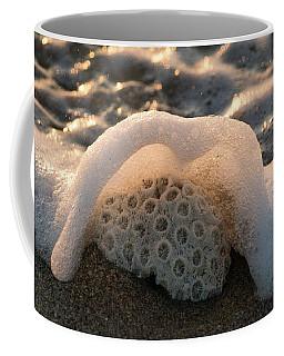 Coral Foamy Splash Delray Beach Florida Coffee Mug