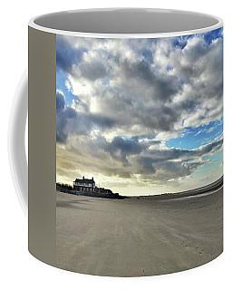 Brancaster Beach This Afternoon 9 Feb Coffee Mug