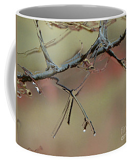 Branch With Water Abstract Coffee Mug by Craig Walters