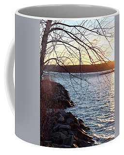 Coffee Mug featuring the photograph Late-summer Riverbank by Melinda Blackman