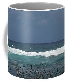Branches Waves And Sky Coffee Mug
