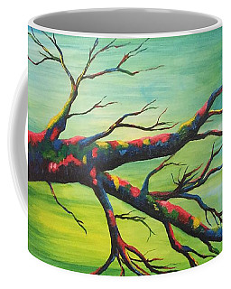 Branching Out In Color Coffee Mug
