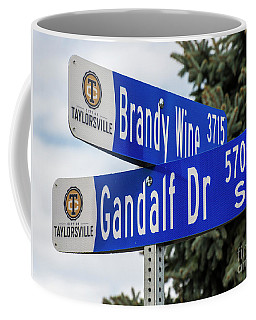 Brandywine And Gandalf Street Signs Coffee Mug by Gary Whitton