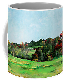 Coffee Mug featuring the painting Beaver Valley by Melinda Blackman