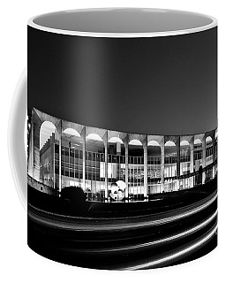 Brasilia - Itamaraty Palace - Black And White Coffee Mug