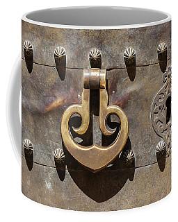 Brass Castle Knocker Coffee Mug
