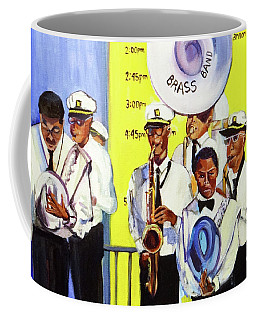 Brass Of  Class New Orleans Coffee Mug by Ecinja Art Works