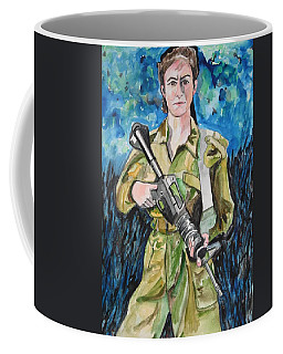 Bravado, An Israeli Woman Soldier Coffee Mug