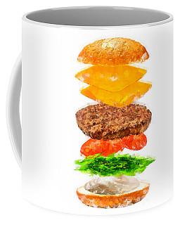 Brazilian Salad Cheeseburger Coffee Mug
