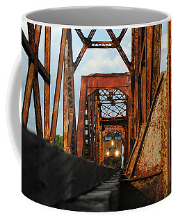 Brazos River Railroad Bridge Coffee Mug