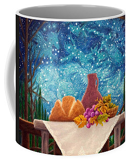 Bread And The Fruit Of The Vine Coffee Mug