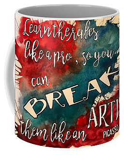 Break The Rules Coffee Mug