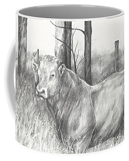 Coffee Mug featuring the drawing Breaker Study by Meagan  Visser