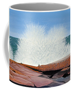 Breakers On Georgian Bay Coffee Mug