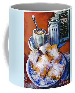 Breakfast At Cafe Du Monde Coffee Mug
