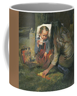 Breakfast On The Grass Coffee Mug
