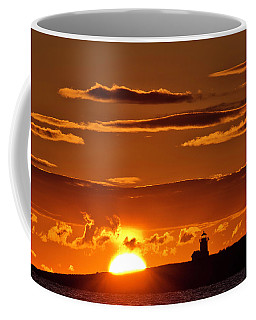 Breaking Dawn Over Straitsmouth Coffee Mug