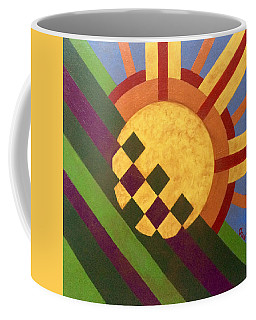 Cbs Sunday Morning Breaking Day Coffee Mug