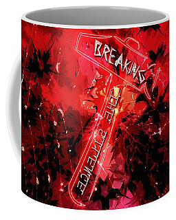 Breaking The Silence 777 Coffee Mug