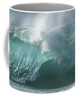 Breaking Wave Coffee Mug by Roger Mullenhour