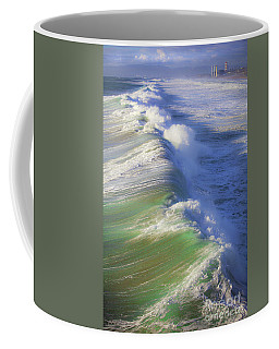 Breaking Waves  Coffee Mug