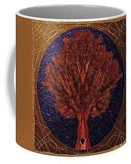 Coffee Mug featuring the digital art Breath Spirit Life by Iowan Stone-Flowers