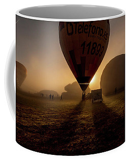 Breathe The Air Coffee Mug by Jorge Maia