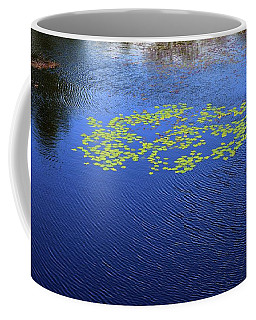 Breeze On The Water  Coffee Mug by Lyle Crump