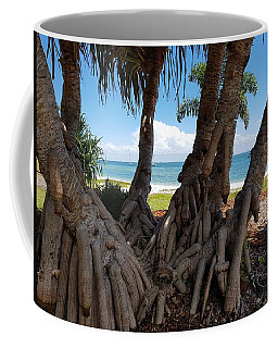 Bribie Trees  Coffee Mug