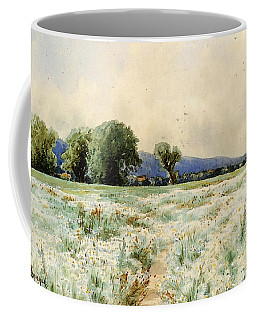 Bricher Alfred Thompson The Daisy Field Coffee Mug