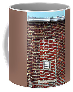 Brick And Barbed Wire Coffee Mug