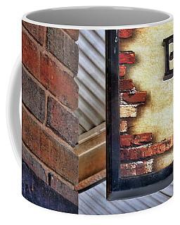 Coffee Mug featuring the photograph Brick Bar by Nikolyn McDonald