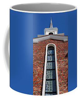 Coffee Mug featuring the photograph Brick Church by Rob Hans