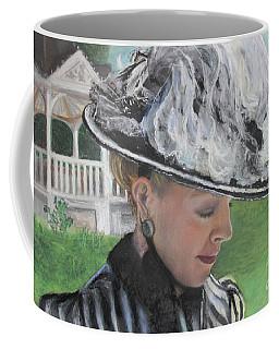 Coffee Mug featuring the pastel Brick City Days by Robin Maria Pedrero