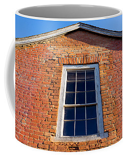 Brick House Window Coffee Mug