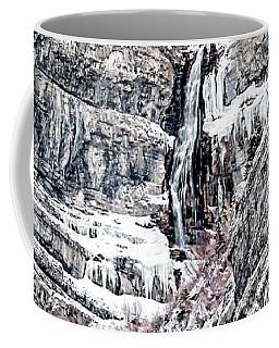 Coffee Mug featuring the photograph Bridal Veil Falls Canvas Print,photographic Print,art Print,framed Print,greeting Card,iphone Case,s by David Millenheft