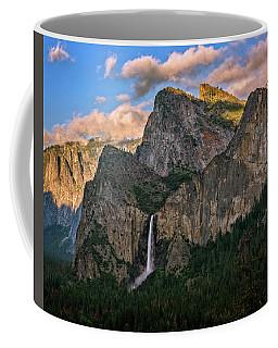 Bridalveil Falls From Tunnel View Coffee Mug