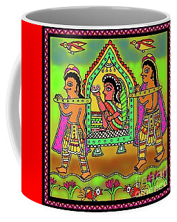 Bride In A Palanquin Coffee Mug