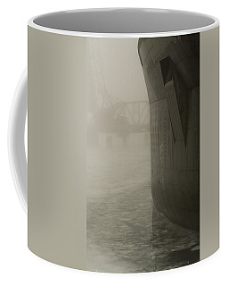 Bridge And Barge Coffee Mug