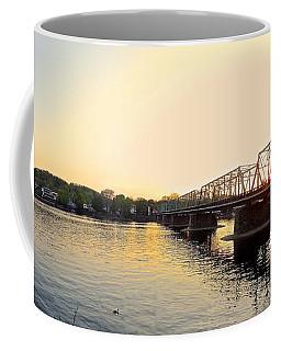 Bridge And New Hope At Sunset Coffee Mug