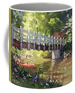Bridge At Ellicott Creek Park Coffee Mug
