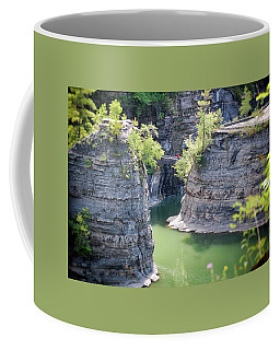 Bridge At Letchworth Coffee Mug