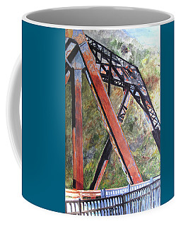 Bridge At Thurmond Wv Coffee Mug