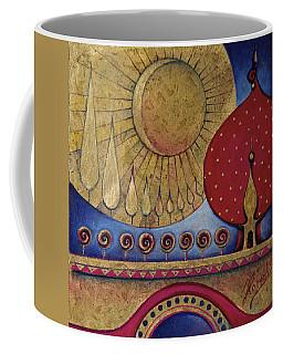 Bridge Between Sunrise And Moonrise Coffee Mug