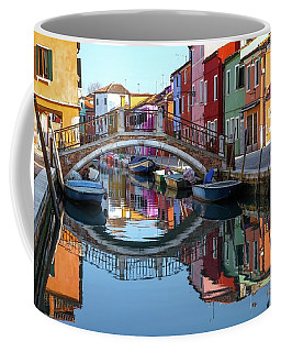 Bridge In Burano  Coffee Mug
